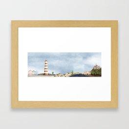 Aveiro landscape Framed Art Print