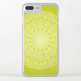 green life Clear iPhone Case