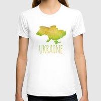 ukraine T-shirts featuring Ukraine by Stephanie Wittenburg
