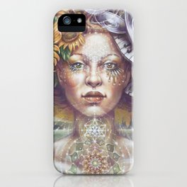 Harmonic Transformation by AutumnmSkyeART iPhone Case