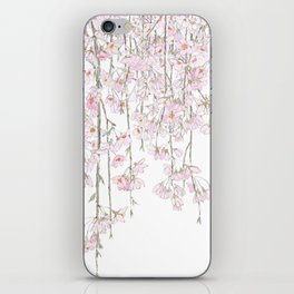 pink cherry blossom spring 2018 iPhone Skin