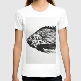 gyotaku - koi fish T-shirt