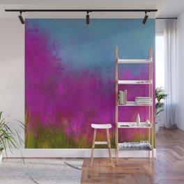 Wildflowers Mod Impressionism Wall Mural