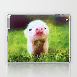 CUTE LITTLE BABY PIG PIGLET Laptop & iPad Skin
