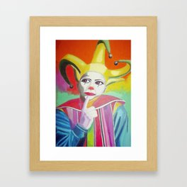 Jocker Framed Art Print
