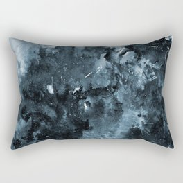Winter Solstice Abstract Rectangular Pillow