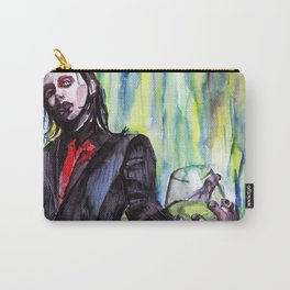 MaNsinthe, portrait of M.M. made by Ines Zgonc Carry-All Pouch