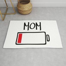 Out of Batteries - Mom Rug