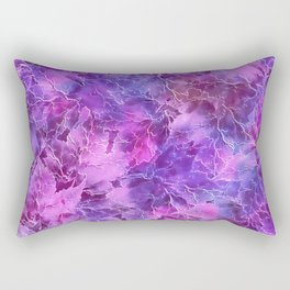Frozen Leaves 27 Rectangular Pillow