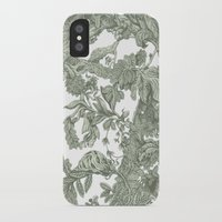 leaf iPhone & iPod Cases featuring Leaf  by Maethawee Chiraphong