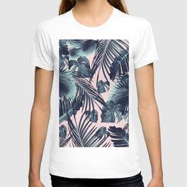 Tropical Jungle Leaves Dream #2 #tropical #decor #art #society6 T-shirt