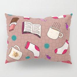 A Cozy Winter's Night Pillow Sham