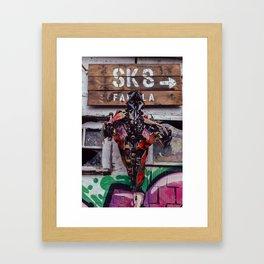 sk8 Framed Art Print