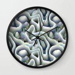 Ice Caves Wall Clock