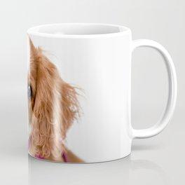 Cavalier King Charles Puppy Girl Coffee Mug