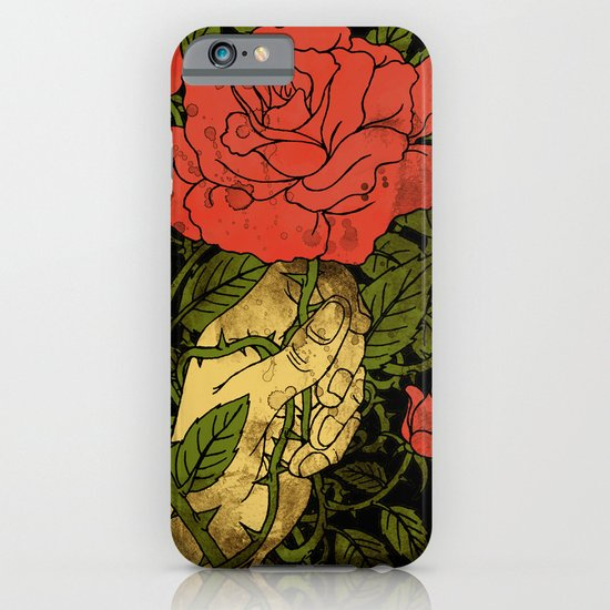 rose in my hand 2.0 iPhone & iPod Case