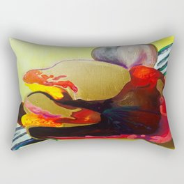 Burn The Flowers For Fuel Rectangular Pillow