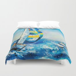 Regatta Duvet Cover