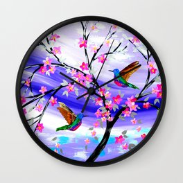 Mauve Dream Wall Clock