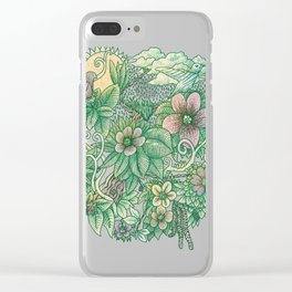 In blooms Clear iPhone Case