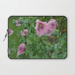 Poppies in rain Laptop Sleeve
