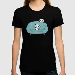 Kawaii Cute Pandas T-shirt