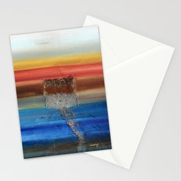Of the Earth 3 by Nadia J Art Stationery Cards