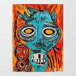 Blue Devil Poster