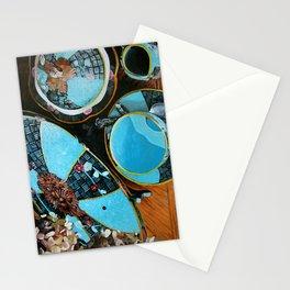 Majolica and Hydrangea Stationery Cards