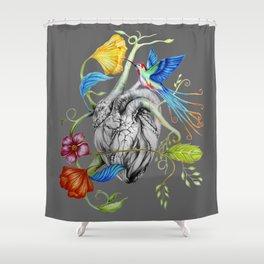 Heart's Love Shower Curtain