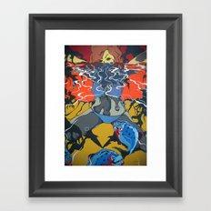 Piranhas Framed Art Print
