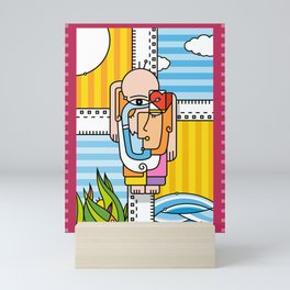 Reflexión Mini Art Print
