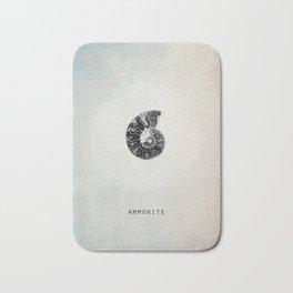 ammonite Bath Mat