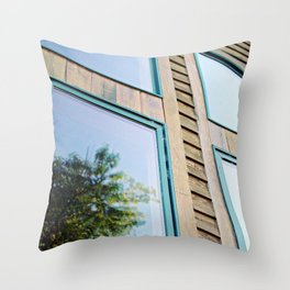 The Cabin Throw Pillow