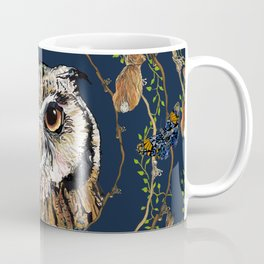 Woodland Owl Coffee Mug