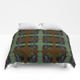 Nature Portals Pattern Comforters