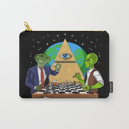 Alien Illuminati Conspiracy Carry-All Pouch