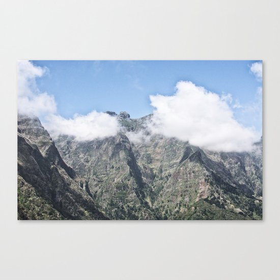 Mountain Madeira 5 Canvas Print