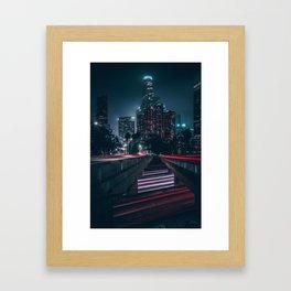 L.V. Framed Art Print