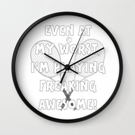 Tennis Lifestyle awesome present Wall Clock