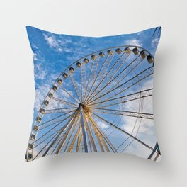 Ferris Wheel 8 Throw Pillow