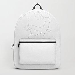 crossed arms Backpack