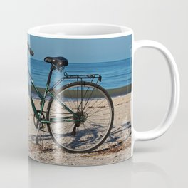 Bike on Barefoot Beach II Coffee Mug