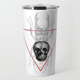 Death Scarab Travel Mug