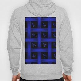 Blue Skulle Pattern Hoody