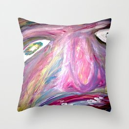 I was not. Throw Pillow