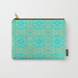 aquagold flower power 3 Carry-All Pouch