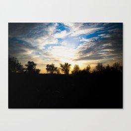 Tramonto Canvas Print