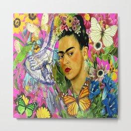 Frida Kahlo Alas Metal Print