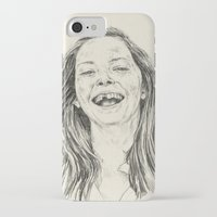 tooth iPhone & iPod Cases featuring tooth by Daria Golab